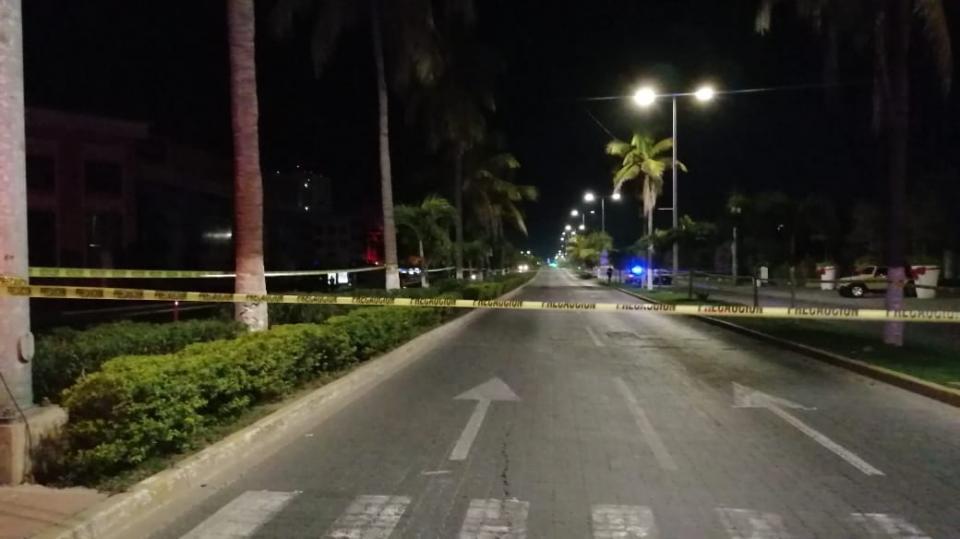 Lugar donde asesinaron a Aristóteles Sandoval en Puerto Vallarta